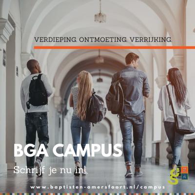 Kom naar de BGA Campus!